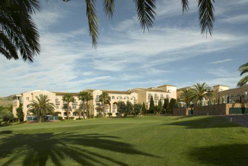 golf hotell