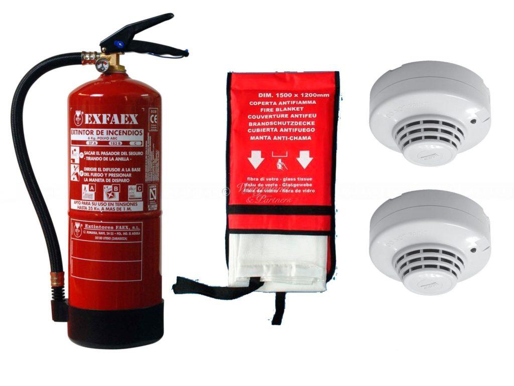 brannsikkerhets pakke