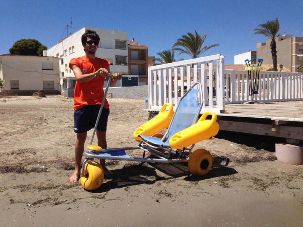 tilpasning stranden