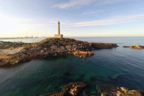 Fyrtårnet i Cabo de palos