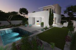 områder - lomas de cabo roig - villa crg5 -  -  render 2 - night large.jpg  - 167835
