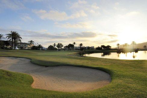 golf stemning bunker