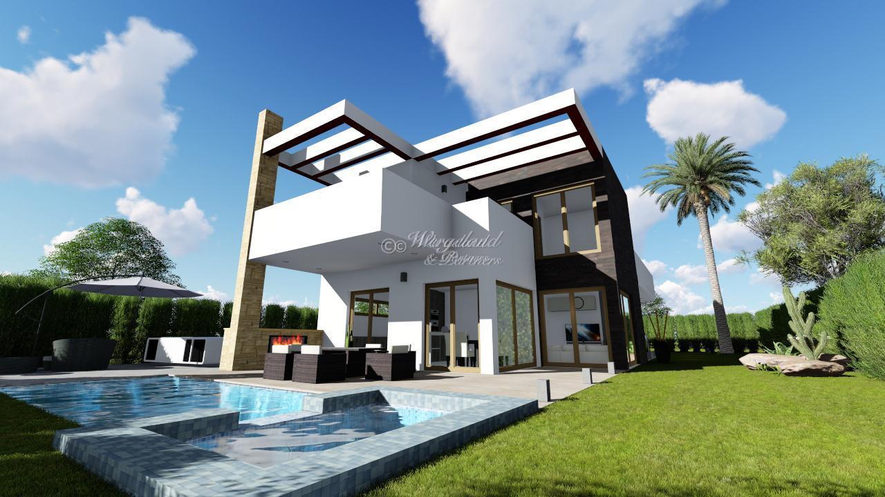 Moderne 4-roms ny villa i hjertet av populære La Manga Club til attraktiv pris og tilpasningsmuligheter [LMC4]