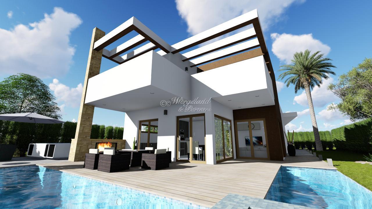 5 soveroms moderne villa med stort basseng og utsikt [LMCLA]