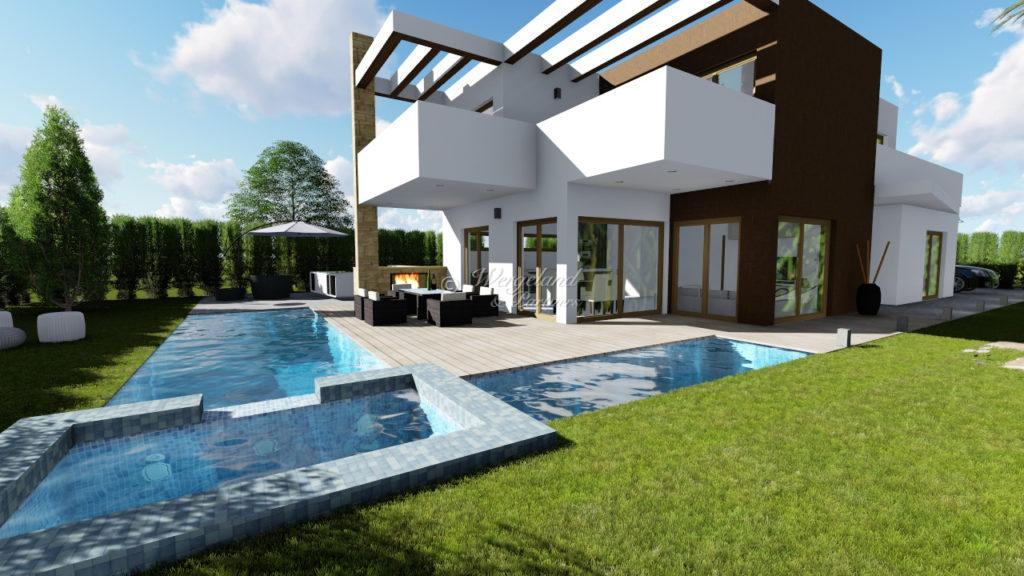 Villa illustrasjon