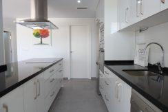 kjøkken i 2 soveroms visningshus