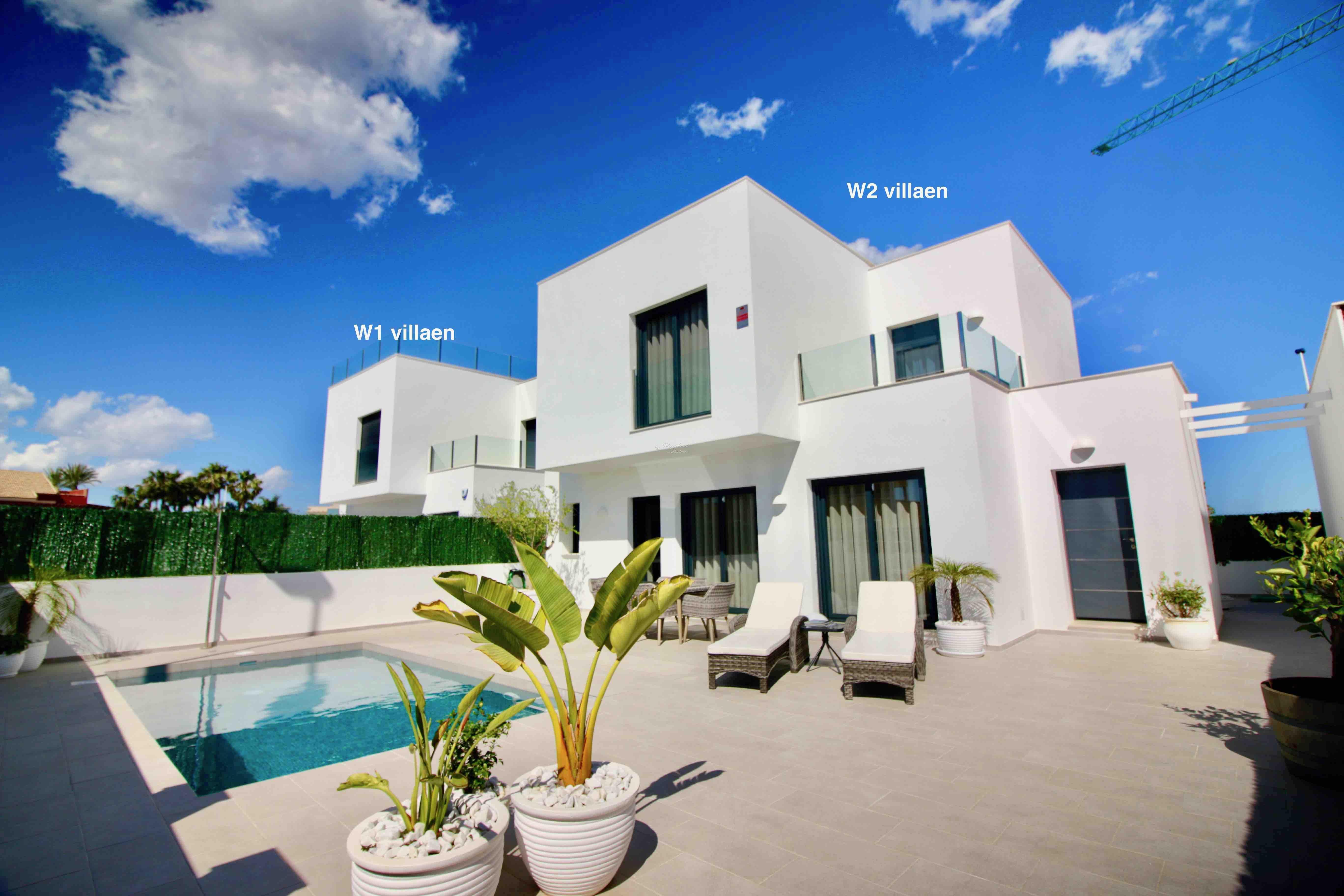 4-roms Moderne Enebolig med privat basseng- gangavstand til Middelhavets strender og spansk byliv hele året [EPVE2]