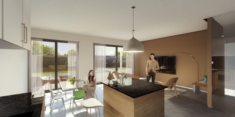Nyhet! 4-roms villa på hjørnetomt med takterrasse, privat basseng og garasje ved golfbanen Serena Golf [SBV12]