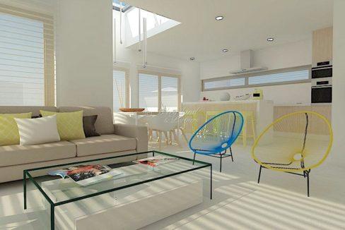 interiør illustrasjon stue