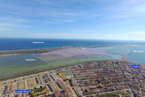 Flyfoto Belich og Mar Menor