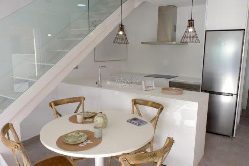 Spisebord og Kjøkken