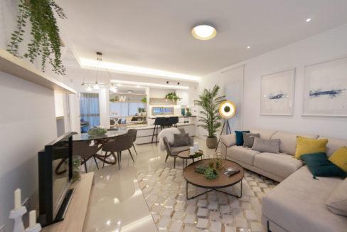 Agata villa stue