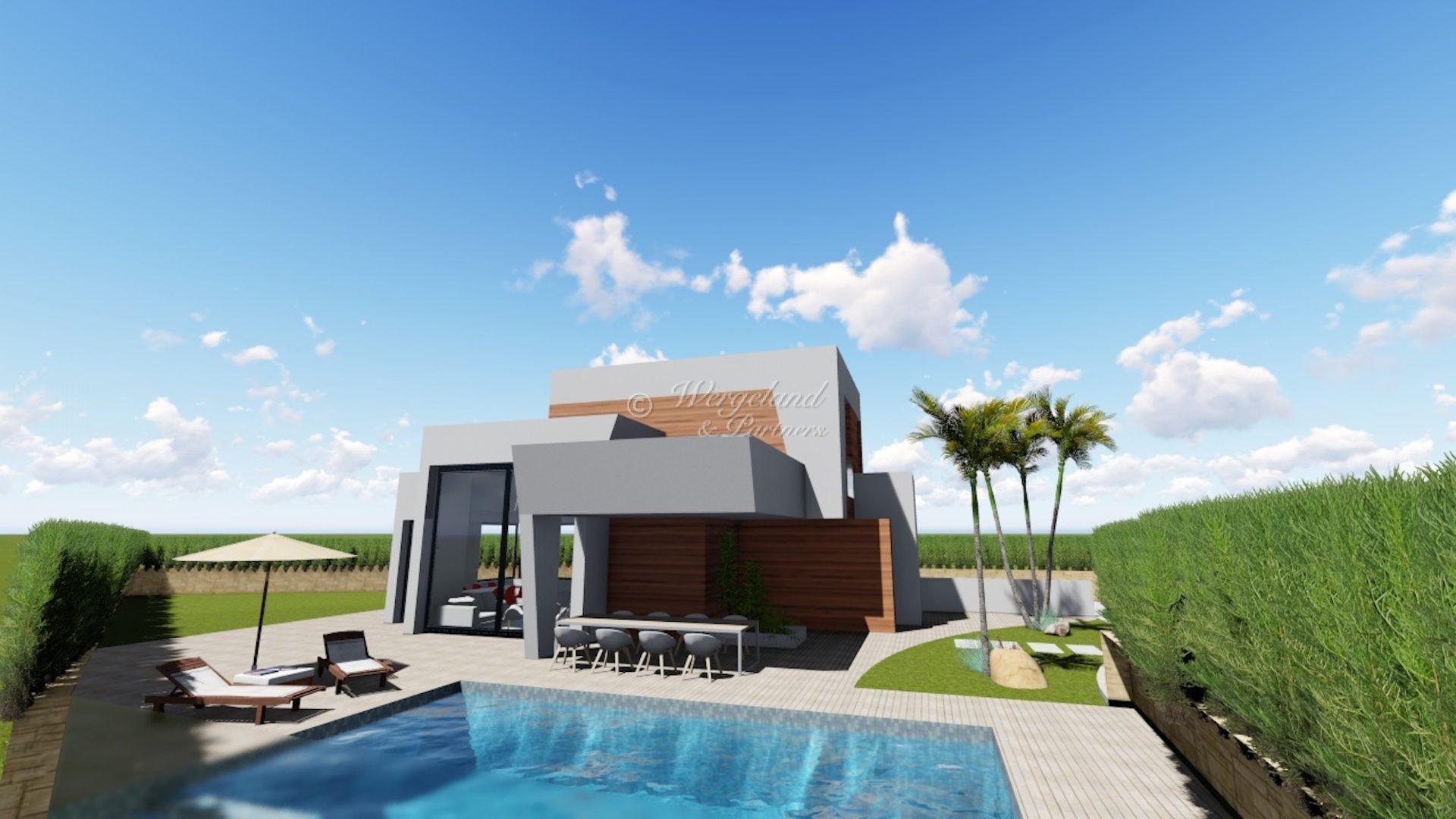 4 soveroms villa med takterrasse og basseng etter dine ønsker [LMCB6]