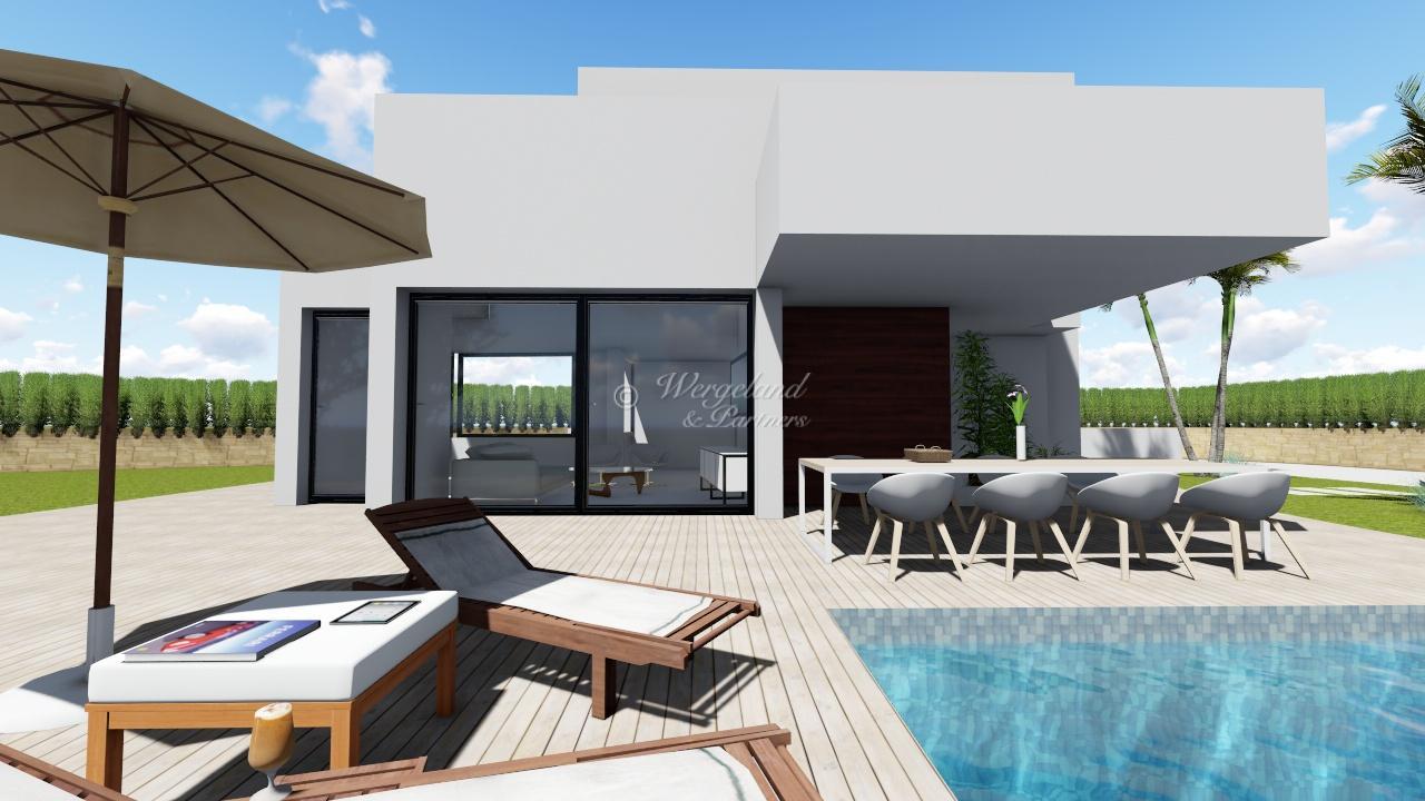 Mye for pengene når vi bygger for deg: 4-roms arkitekttegnet villa etter dine ønsker [LMCWOP]