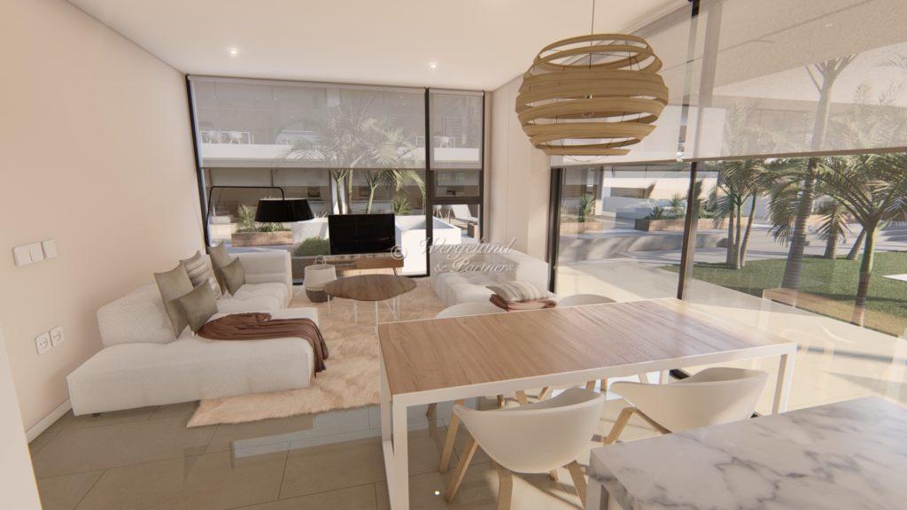Convasa leilighet stue