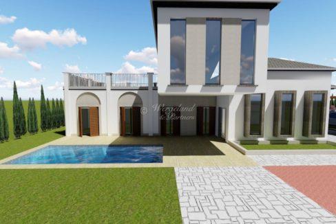 Illustrasjon villa Rustikk