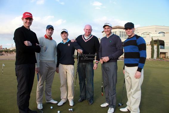 Norske golfere og Tom HdA