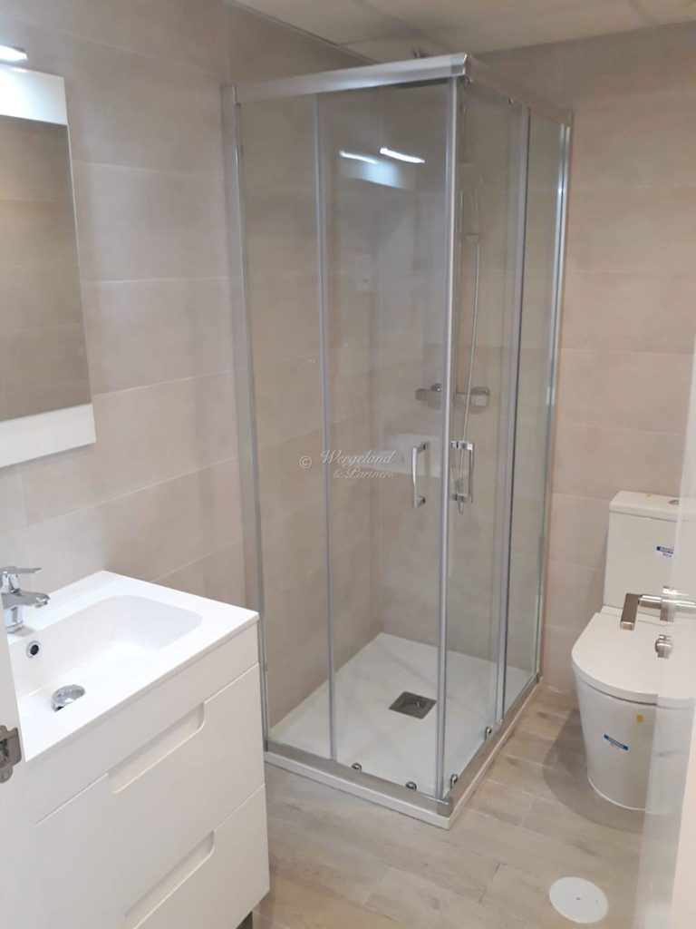 Nytt Bad med dusj