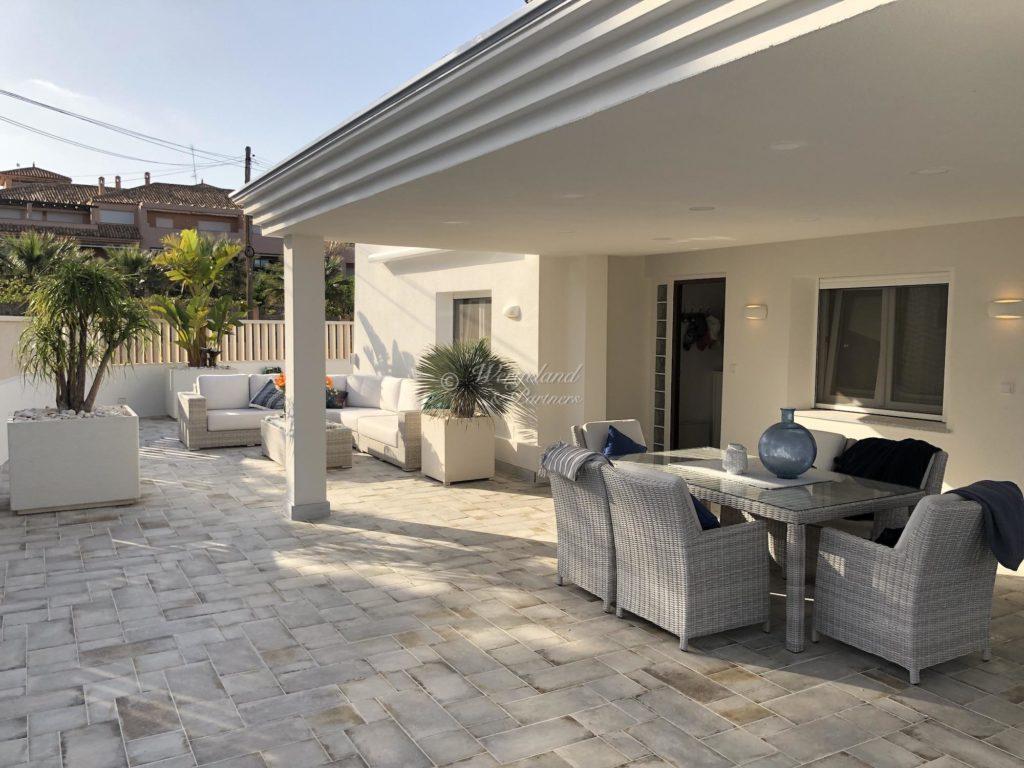 Terrasse Stemning