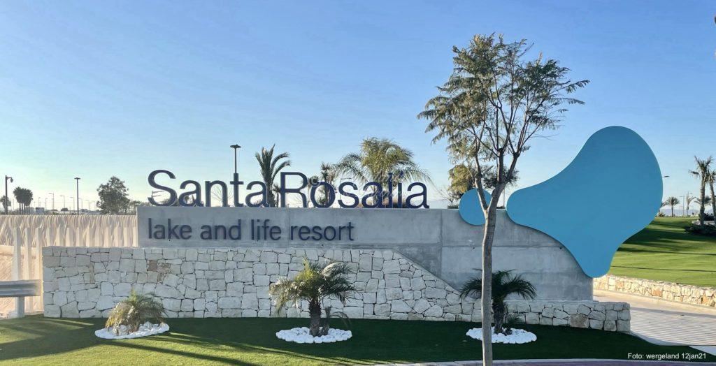 Santa Rosalia Logo Entrance