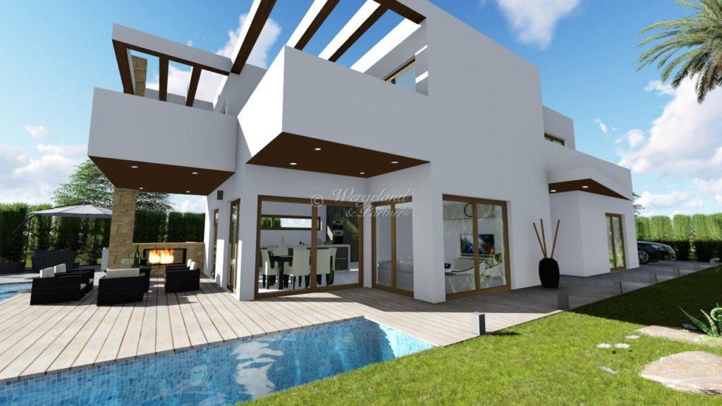 Villa 5D05 Color Techo
