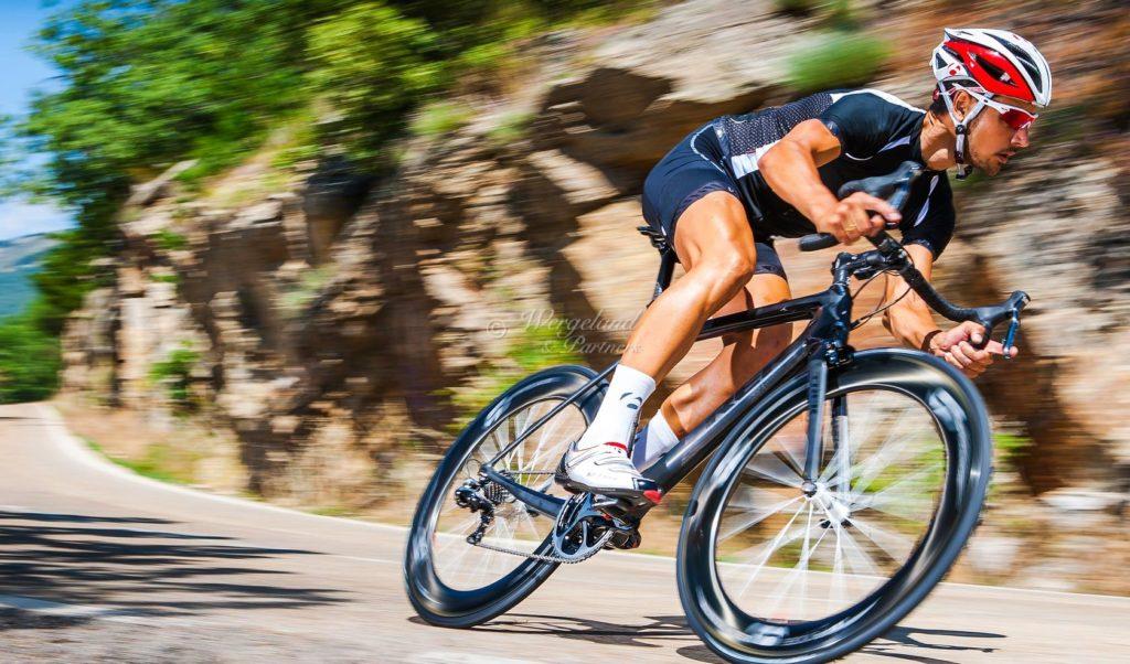 Syklist utfor
