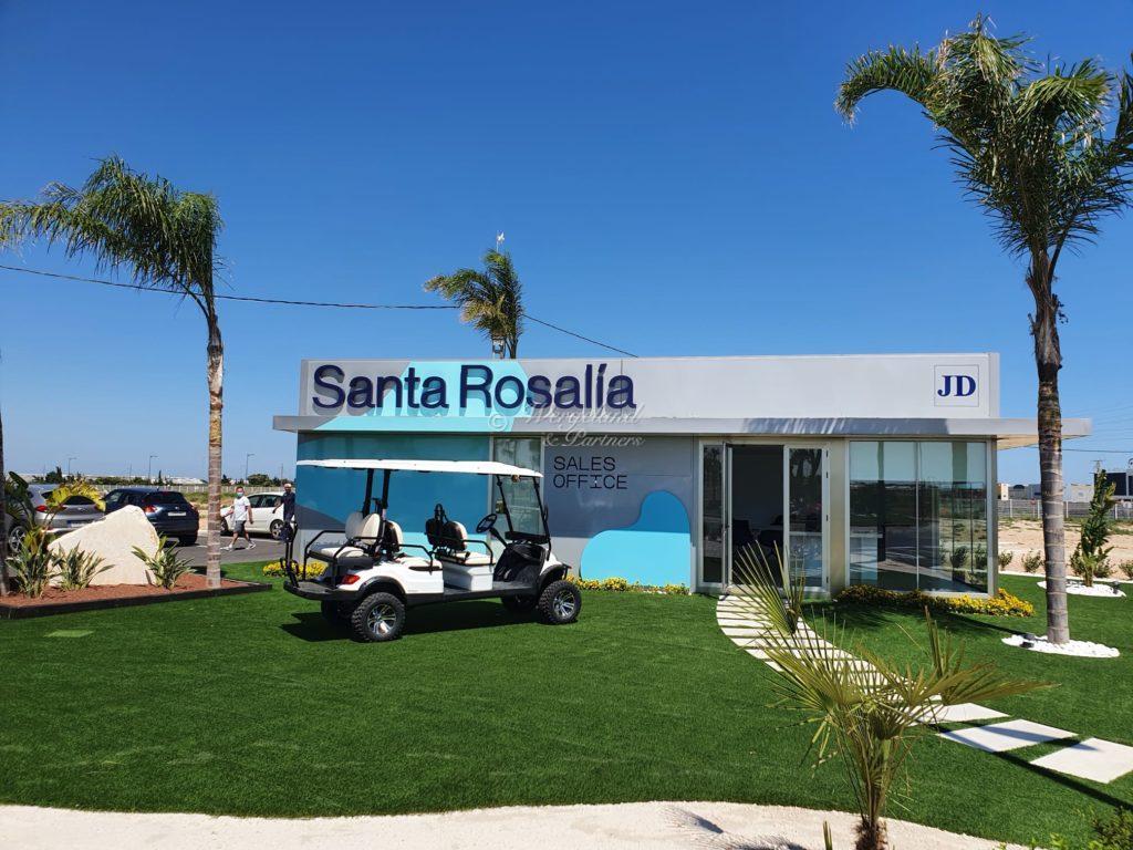 6 Seater Golf Buggy Santa Rosalia