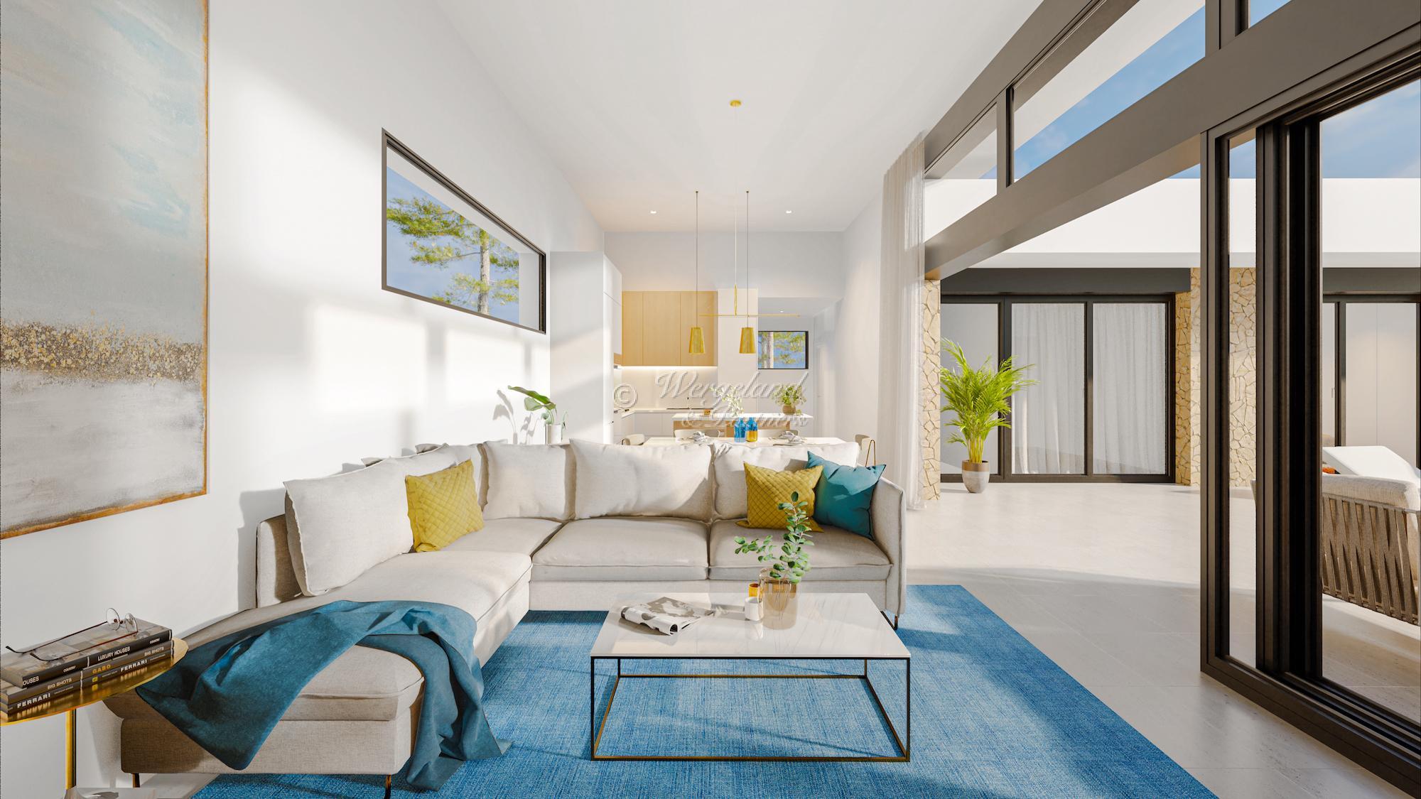 3 Soveroms arkitekttegnet villa etter dine ønsker [LMC3]