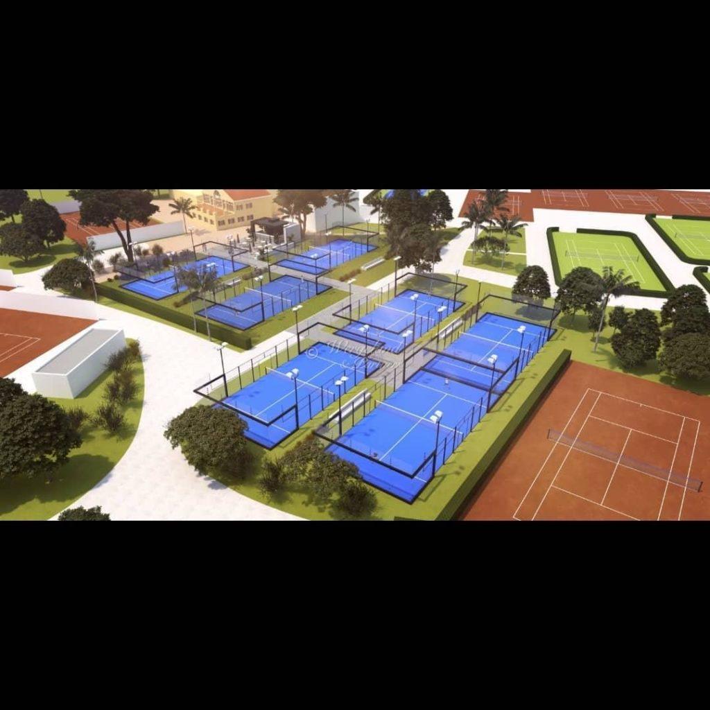 LMC Tennis Centre 7 Pade Courses