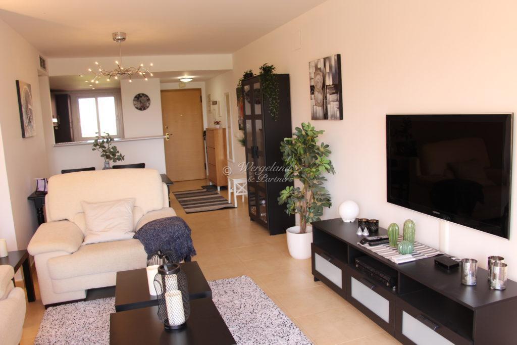 Stue Med Sofa Og TV